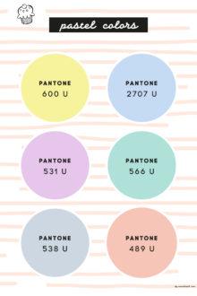 pastelcolors